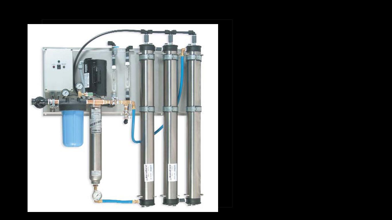 Reverse osmosis unit (RO system)